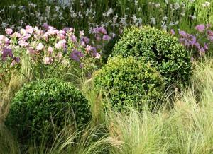 Christophe naudier - Architecte paysagiste - Aix en Provence - Jardin éphémère pour les Journées des plantes d'Albertas 2015 - Création jardin