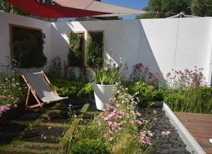 Christophe naudier - Architecte paysagiste - Aix en Provence - TABLEAU VÉGÉTAL et ESPACE DÉTENTE - Jardin éphémère pour le Salon Coté Sud 2015 - Création jardin