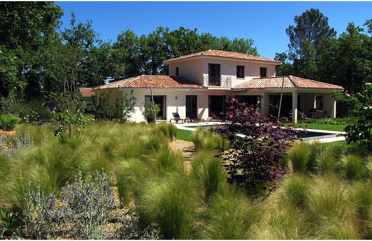 Atelier Naudier - Architecte paysagiste concepteur - Montpellier & Aix en Provence - Jardin naturel contemporain - GRAMINÉES - aménagement jardin - FRANCE 3 IN SiTU