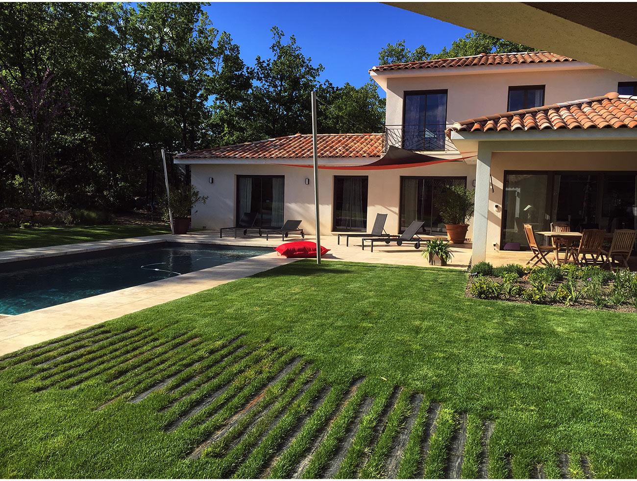 Atelier Naudier - Architecte paysagiste concepteur - Montpellier & Aix en Provence - Jardin naturel contemporain - PAS JAPONAIS - aménagement jardin- FRANCE 3 IN SiTU