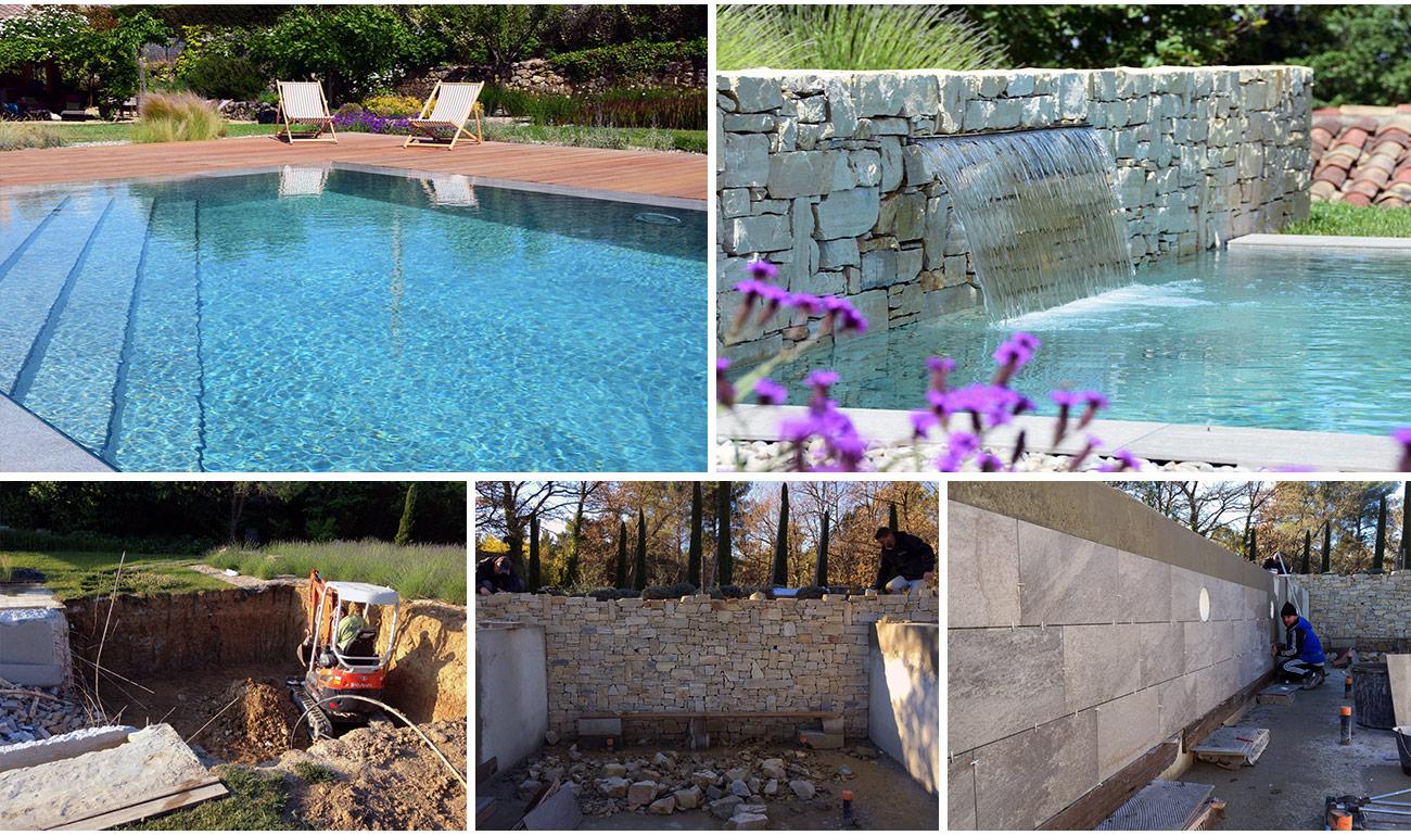 Atelier Naudier - Architecte paysagiste concepteur - Montpellier & Aix en Provence - Piscine contemporaine - DÉTAILS JARDIN DESIGN - aménagement jardin