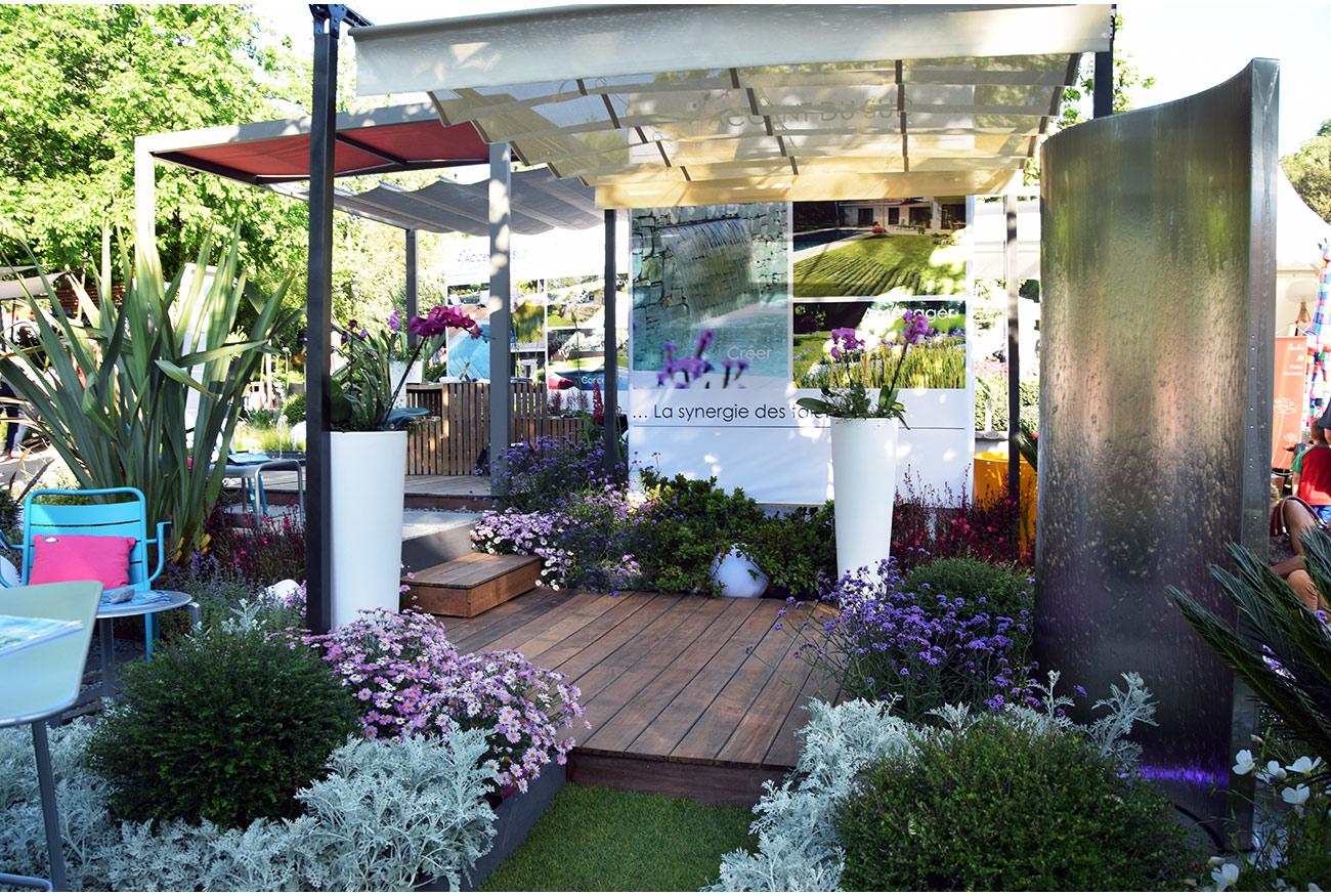 Atelier Naudier - Architecte paysagiste concepteur - Montpellier & Aix en Provence - Salon COTE SUD - Jardin éphémère - aménagement jardin