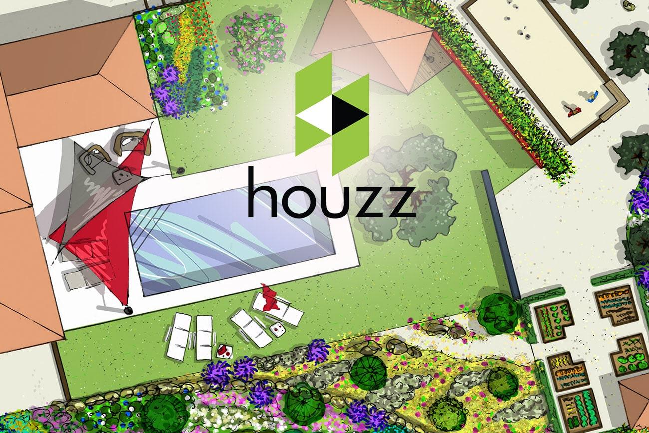 HOUZZ - Article paru - Architecte paysagiste concepteur - Atelier Naudier - Montpellier & Aix en Provence - aménagement jardin