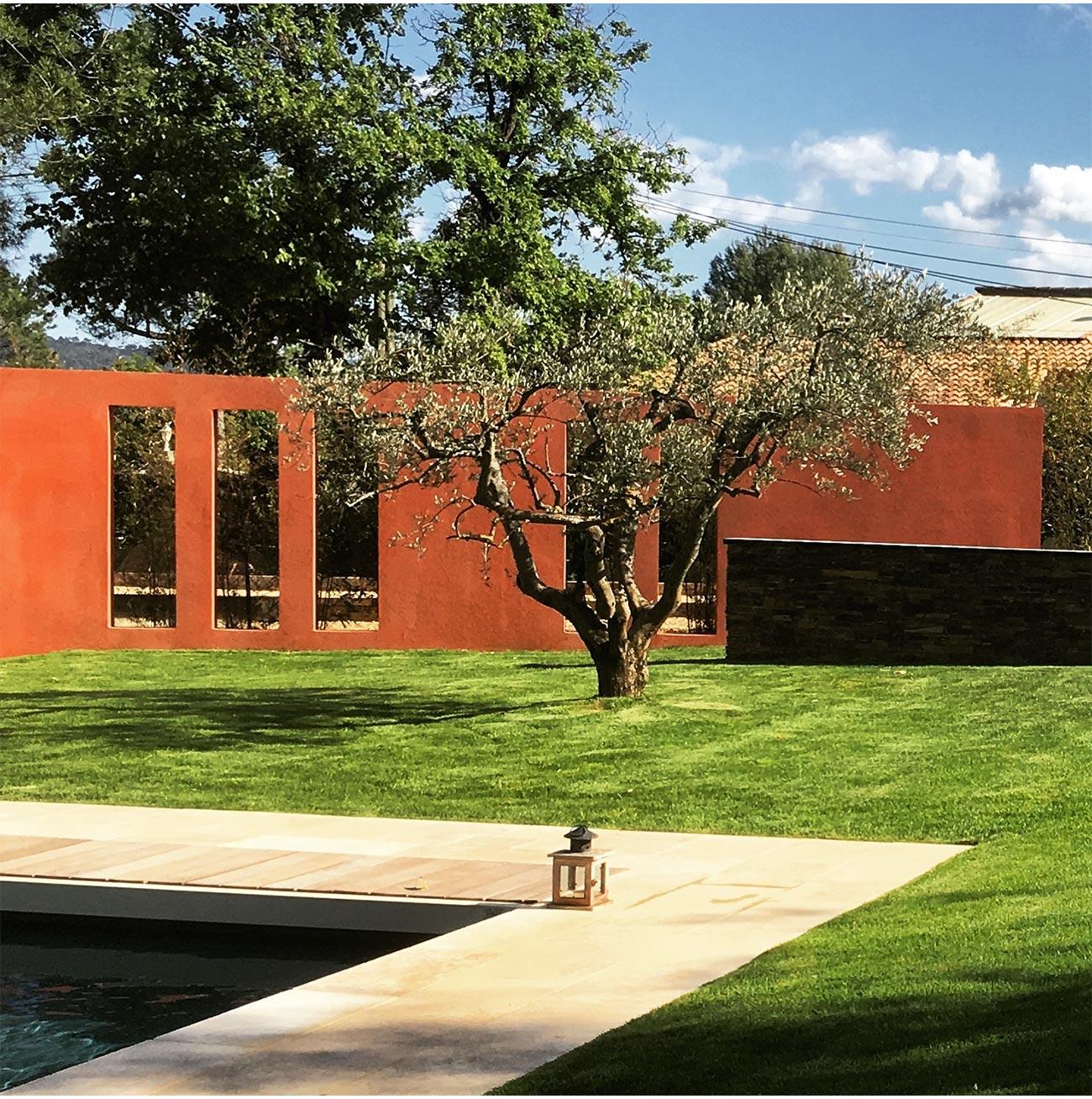 Christophe Naudier - Architecte paysagiste concepteur - Montpellier & Aix en Provence - Jardin contemporain - MUR - Aménagement jardin - FRANCE 3 IN SiTU