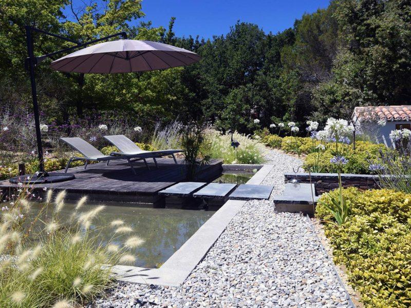 Christophe Naudier - Architecte paysagiste concepteur - Montpellier & Aix en Provence - jardin graphique & piscine relookée - Aménagement jardin