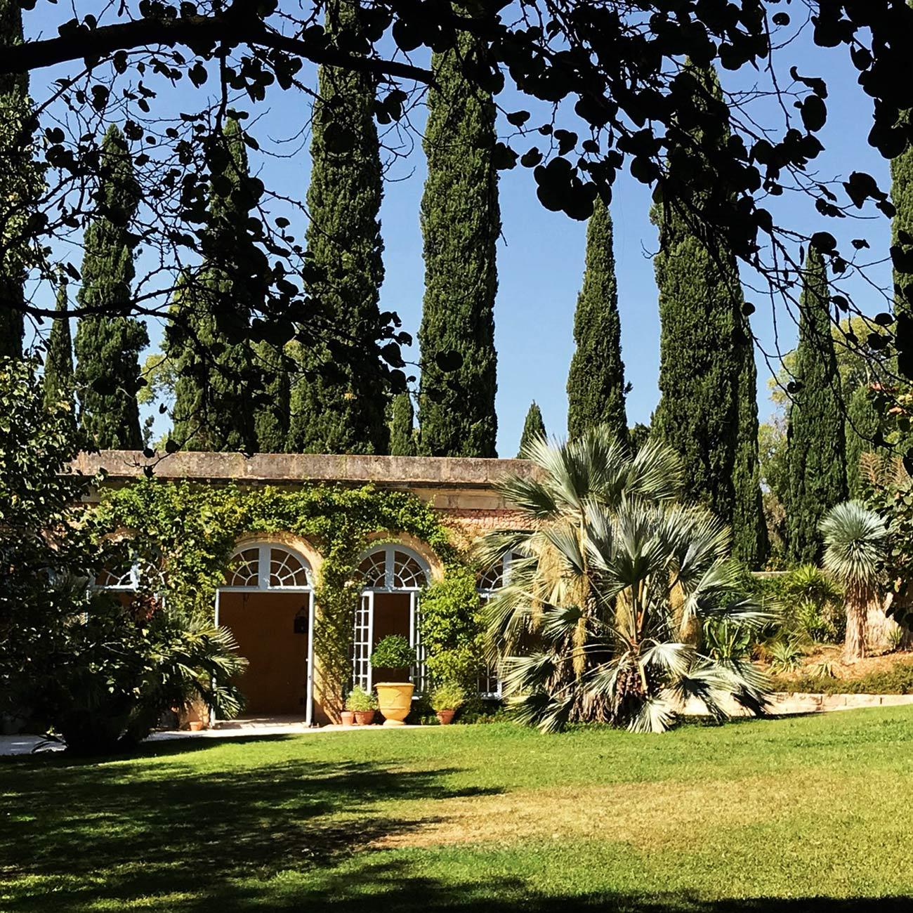 JARDINS DU CHATEAU DE FLAUGERGUES - Orangerie - Atelier Naudier -Architecte Paysagiste concepteur - Montpellier & Aix en Provence