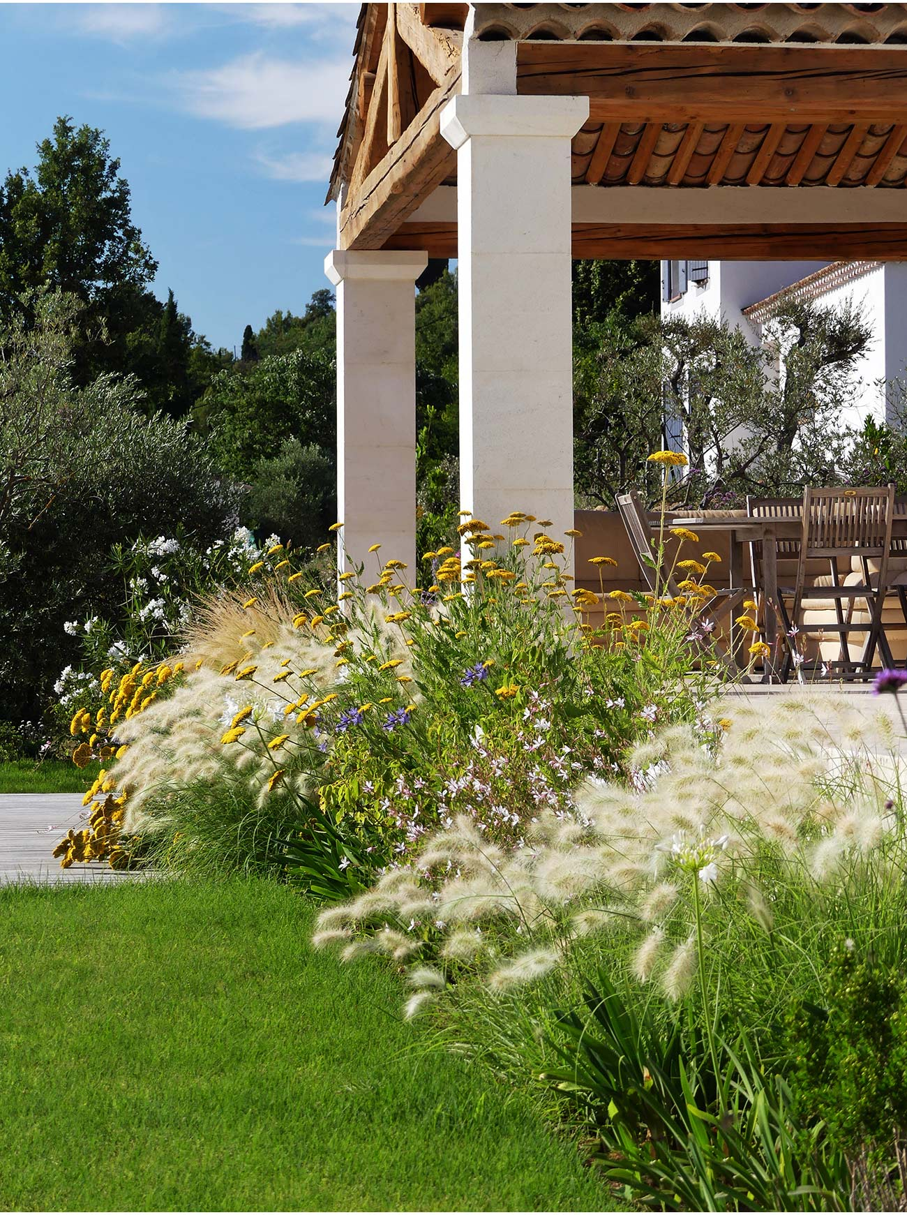 Jardin-belvédère - Paysagiste Montpellier & Aix-en-Provence