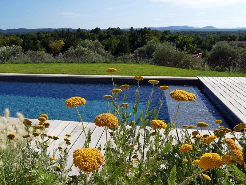 Atelier Naudier - Architecte paysagiste concepteur - Montpellier & Aix en Provence - Jardin belvédère méditerranéen