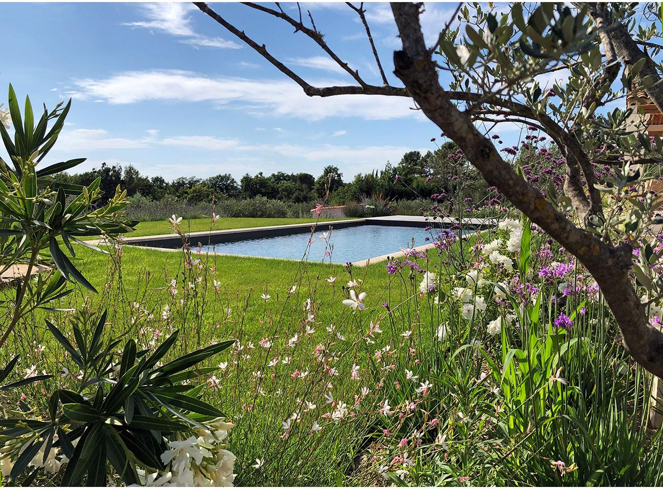 Atelier Naudier - Architecte paysagiste concepteur - Montpellier & Aix en Provence - Jardin et piscine en méditerranée