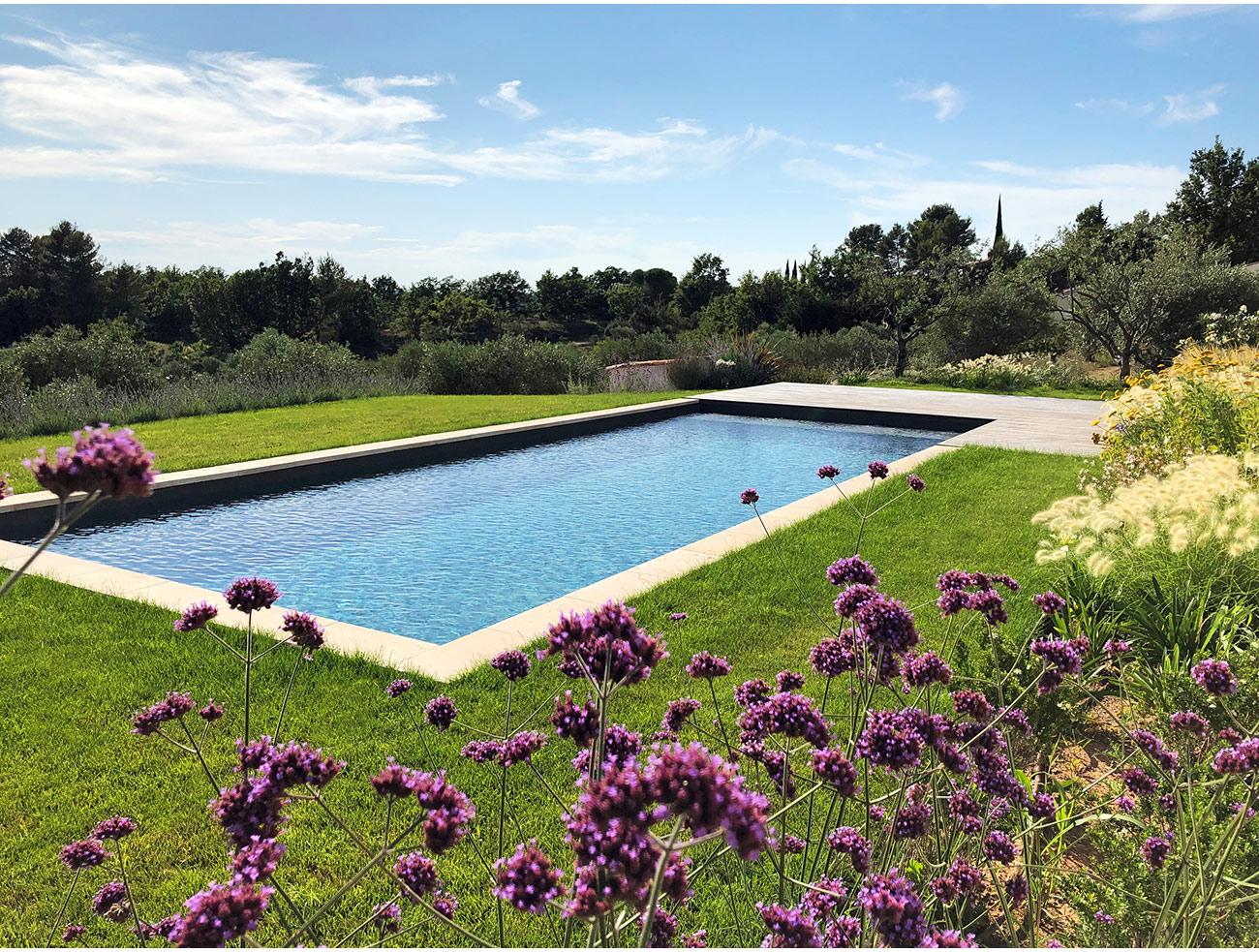 Atelier Naudier - Architecte paysagiste concepteur - Montpellier & Aix en Provence - Jardin méditerranéen et piscine