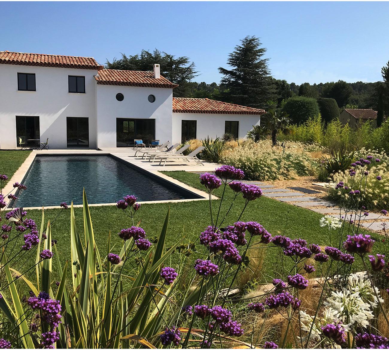 Atelier Naudier - Architecte paysagiste concepteur - Montpellier & Aix-en-Provence - JARDIN DESIGN MÉDITERRANÉEN - Aménagement jardin