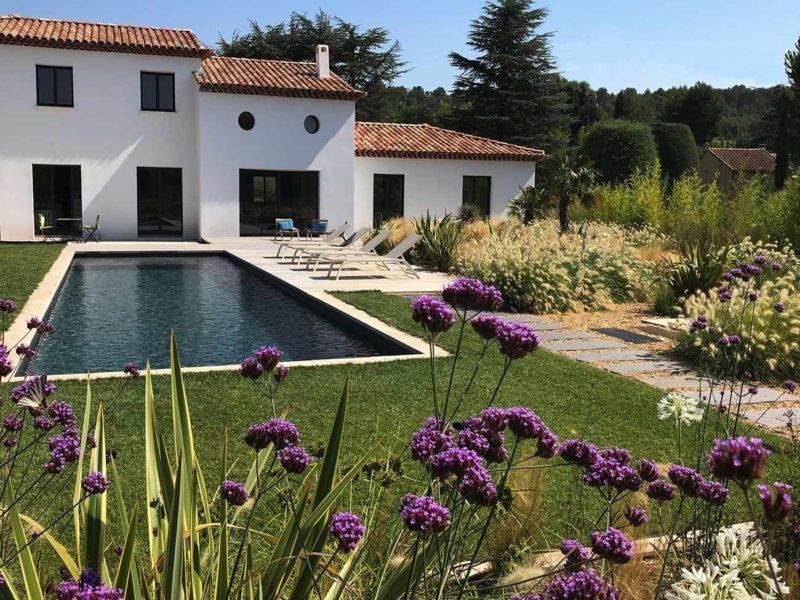 Atelier Naudier - Architecte paysagiste concepteur - Montpellier & Aix-en-Provence - JARDIN MÉDITERRANÉEN - Aménagement jardin