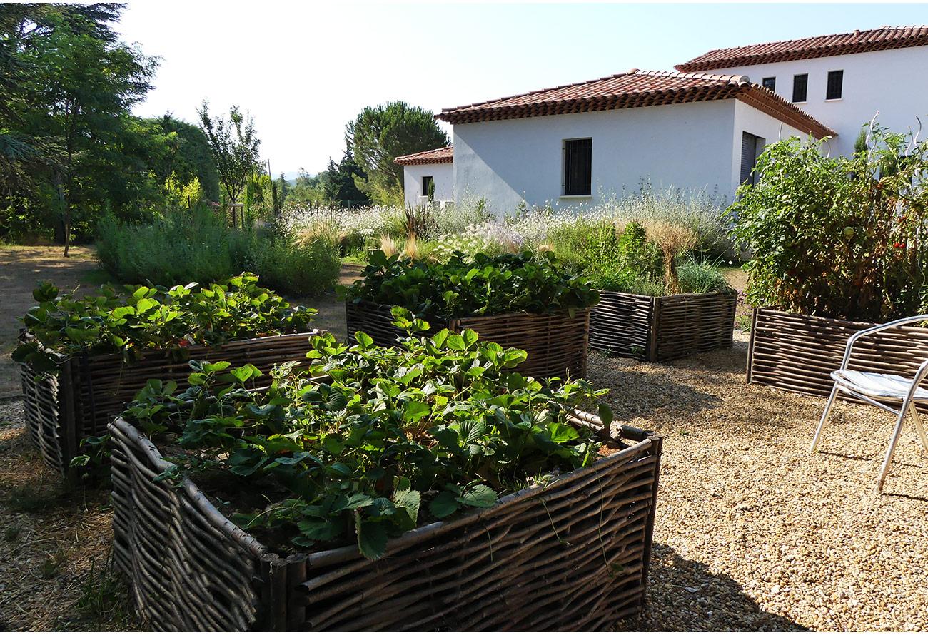 Atelier Naudier - Architecte paysagiste concepteur - Montpellier & Aix-en-Provence - JARDIN POTAGER EN CARRES - Aménagement jardin