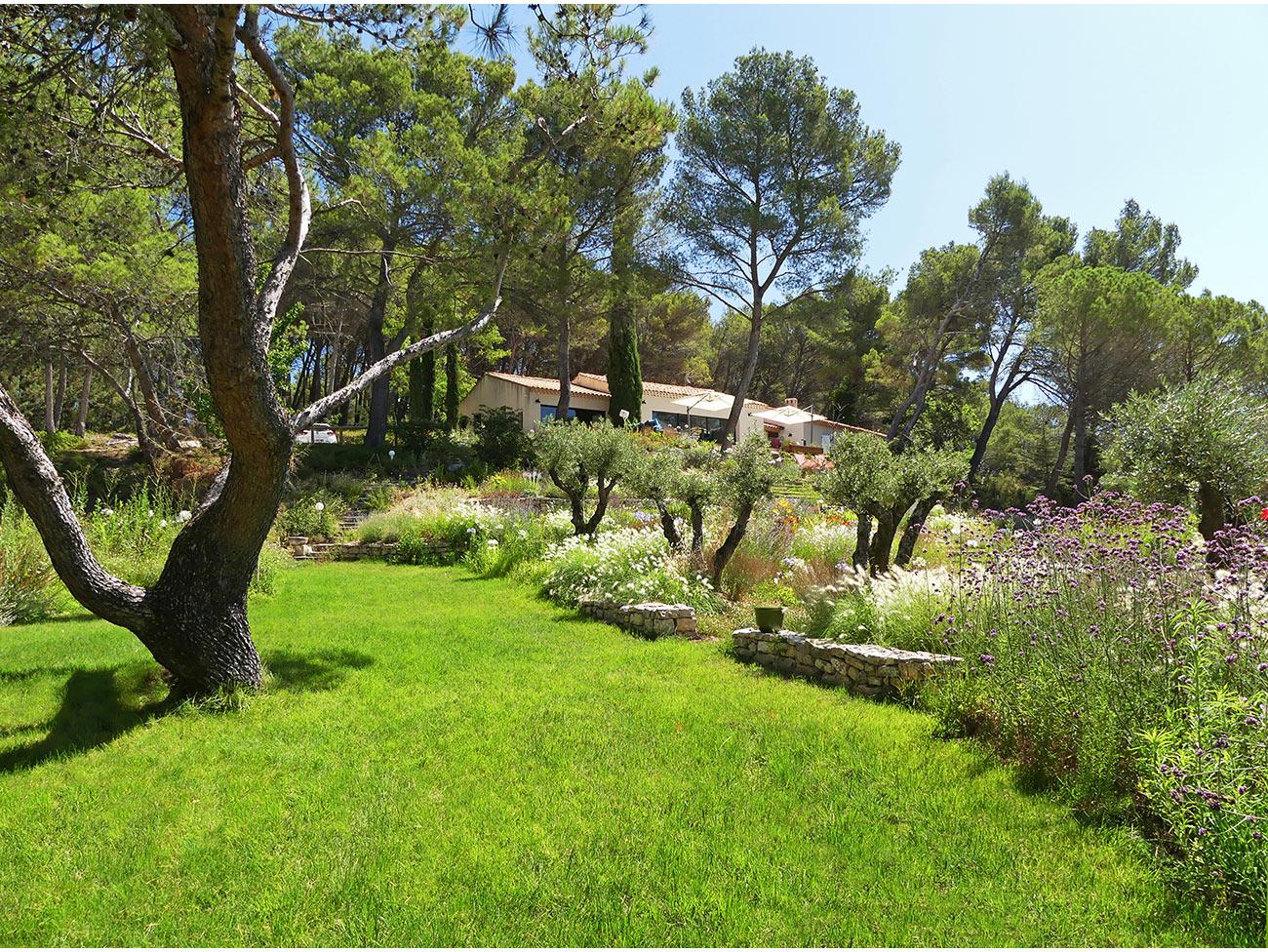 Atelier Naudier - Architecte paysagiste concepteur - Montpellier et Aix en Provence - Jardin méditerranéen contemporain - aménagement jardin