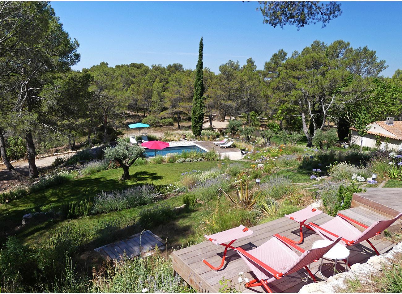 Atelier Naudier - Architecte paysagiste concepteur - Montpellier et Aix en Provence - Jardin méditerranéen restanque - aménagement jardin