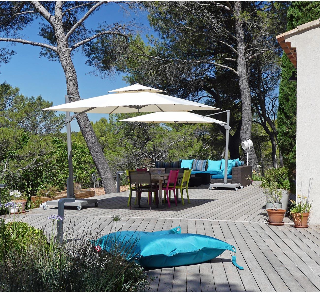 Atelier Naudier - Architecte paysagiste concepteur - Montpellier et Aix en Provence - Terrasse bois et mobilier de jardin - aménagement jardin
