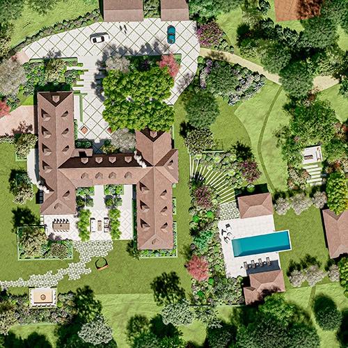 Atelier Naudier - Architecte paysagiste connu jardin naturaliste - Montpellier & Aix-en-Provence - Modélisation 3D - 1-petit