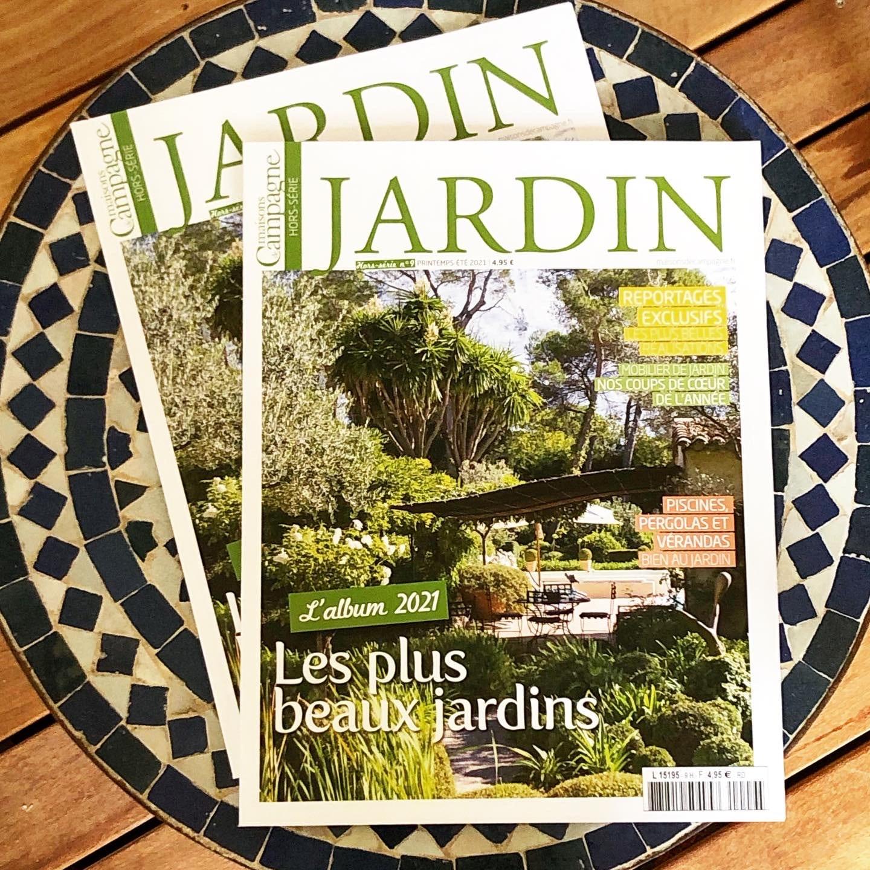 Atelier Naudier - Architecte Paysagiste connu - Articles et reportages magazine Maisons de Campagne - 1 - Plus beaux jardins de France
