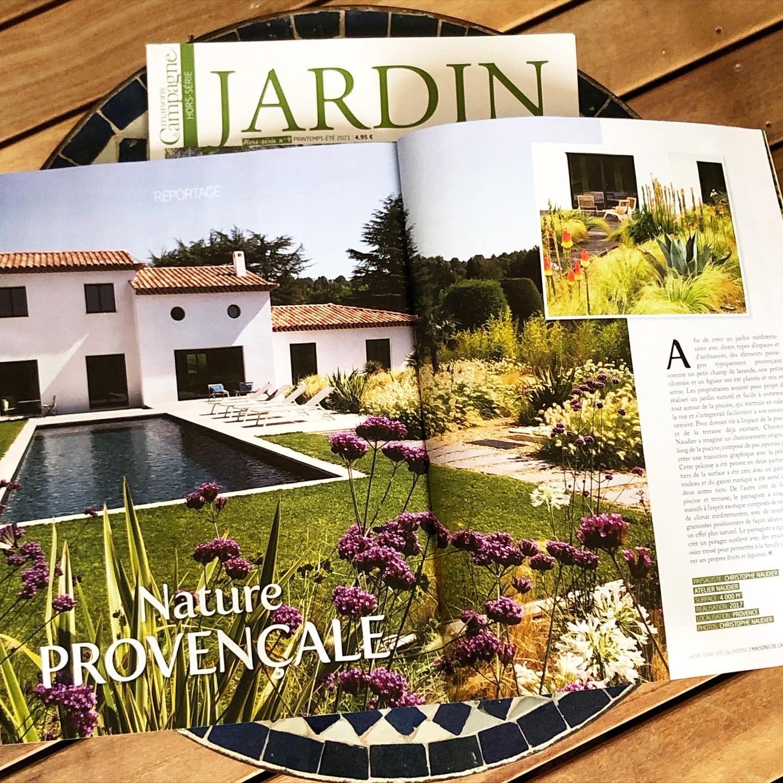 Atelier Naudier - Architecte Paysagiste connu - Articles et reportages magazine Maisons de Campagne - 2 - Plus beaux jardins de France