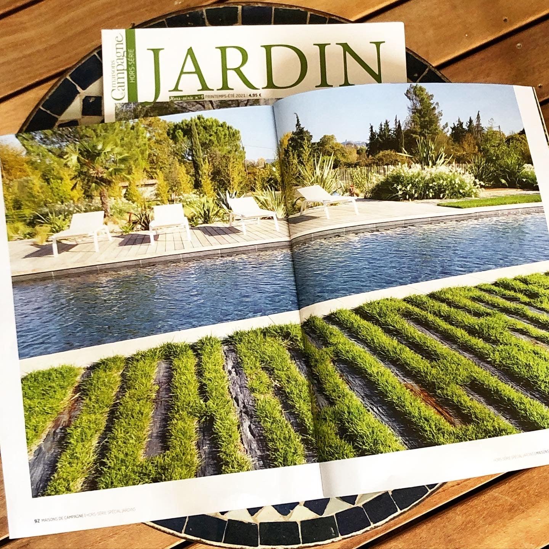 Atelier Naudier - Architecte Paysagiste connu - Articles et reportages magazine Maisons de Campagne - 3 - Plus beaux jardins de France