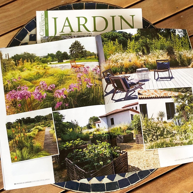 Atelier Naudier - Architecte Paysagiste connu - Articles et reportages magazine Maisons de Campagne - 4 - Plus beaux jardins de France
