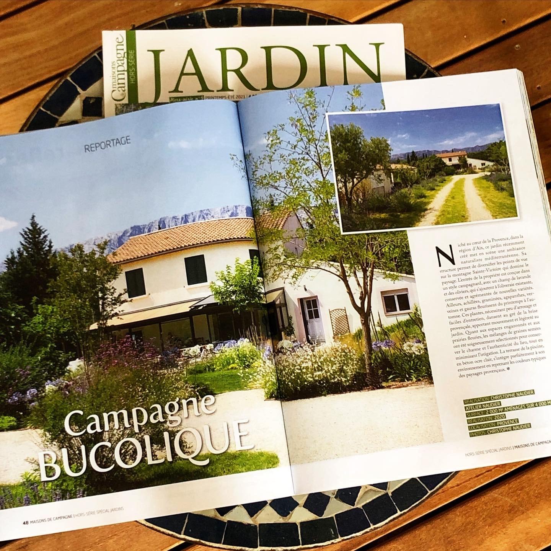 Atelier Naudier - Architecte Paysagiste connu - Articles et reportages magazine Maisons de Campagne - 5 - Plus beaux jardins de France