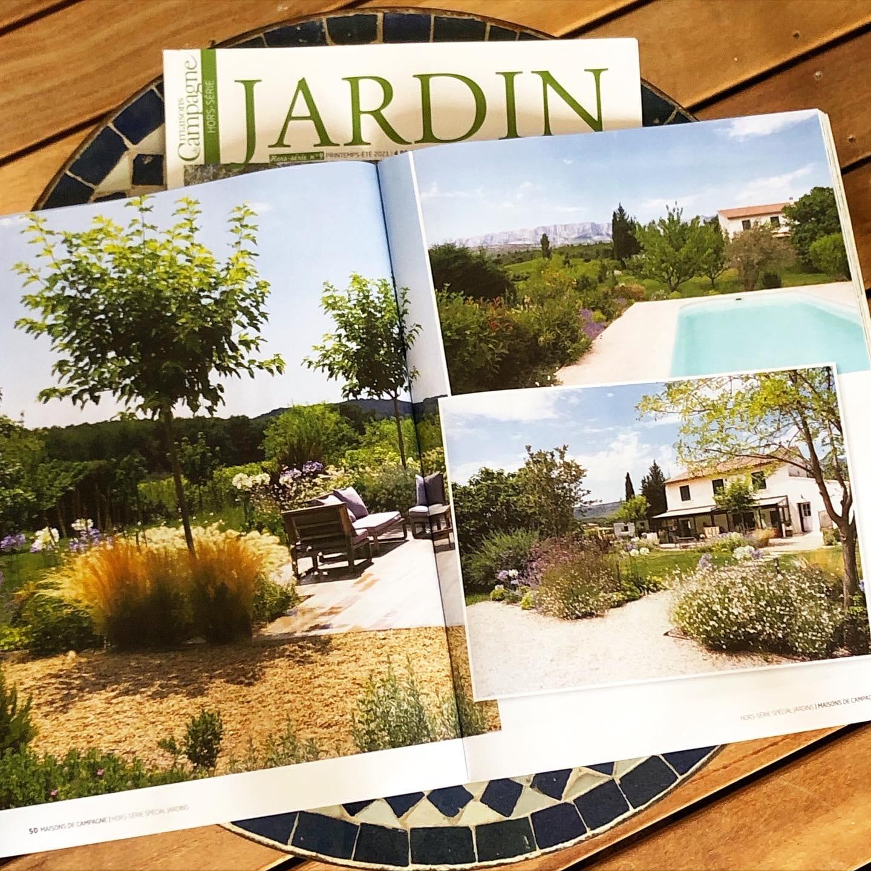 Atelier Naudier - Architecte Paysagiste connu - Articles et reportages magazine Maisons de Campagne - 6 - Plus beaux jardins de France