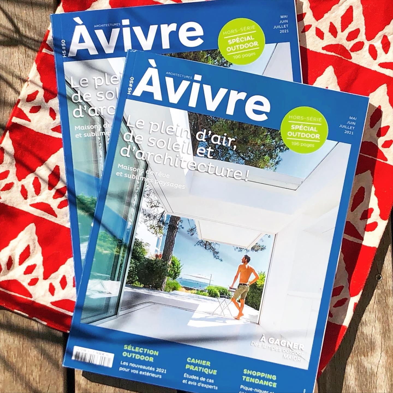 telier Naudier - Architecte Paysagiste connu - Articles et reportages magazine Architectures à vivre - Spécial Outdoor